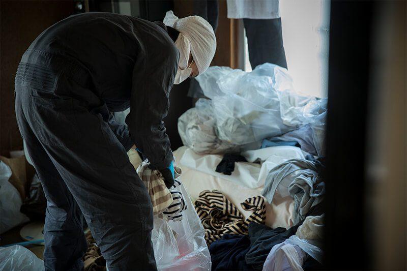 ゴミ屋敷の清掃業者