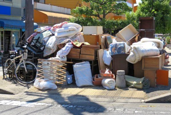 小金井市の粗大ゴミ処分の手順