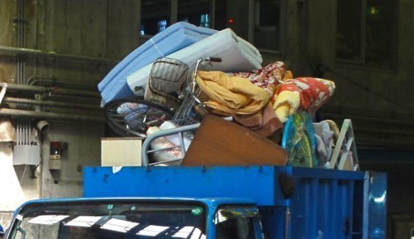 品川区の粗大ゴミ処分の手順