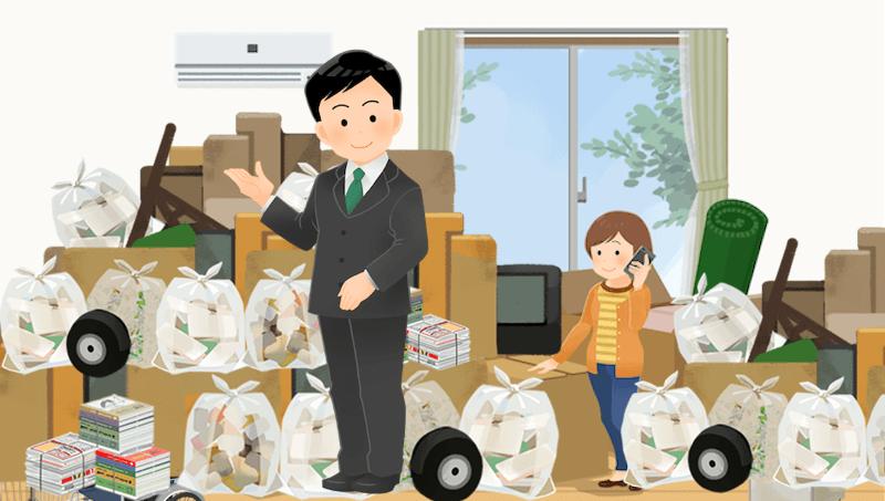 ゴミ屋敷の片付けを専門業者に任せる6つのメリット