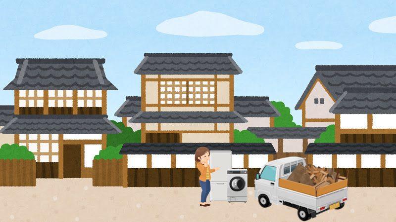 埼玉県本庄市の不用品回収事例
