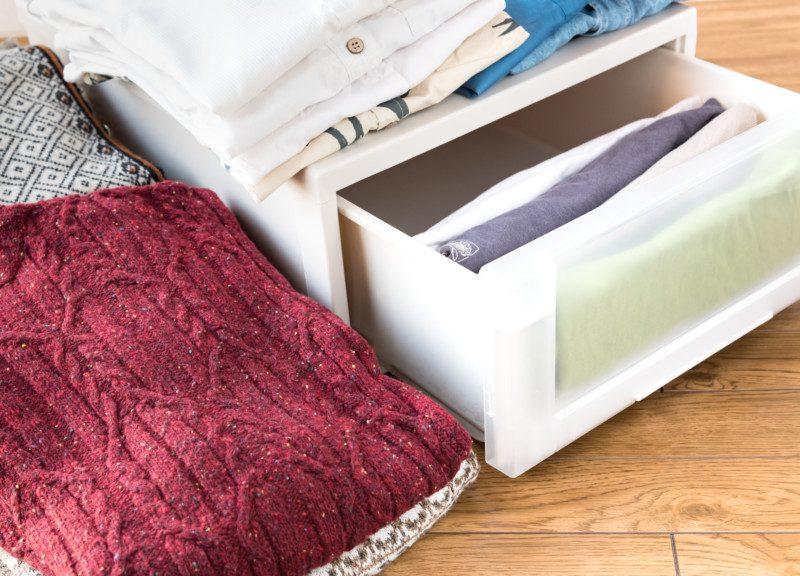 お部屋を片付けるための基本的な収納スペースの使い方