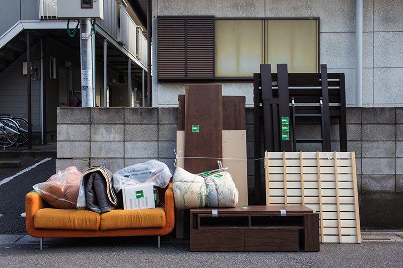 東京都港区で出る粗大ゴミの処分方法