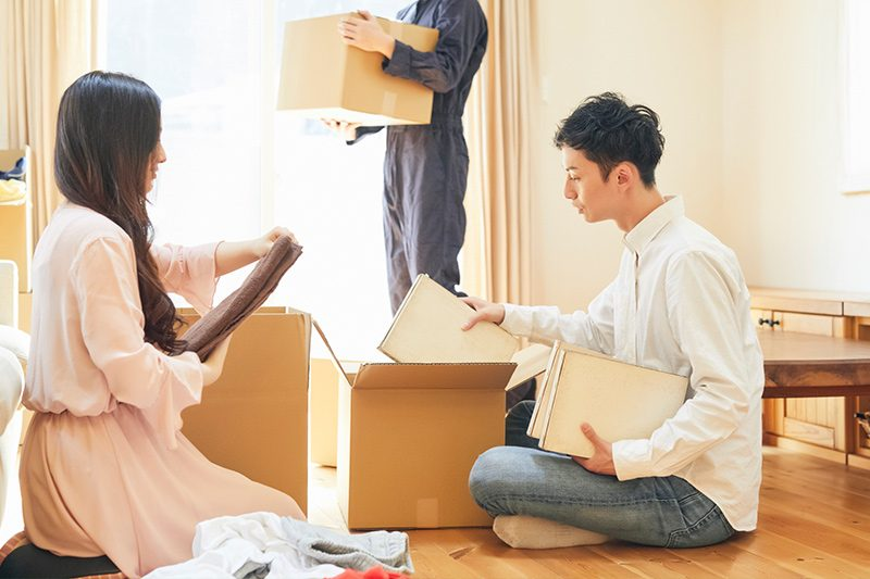 引っ越し時の不用品回収