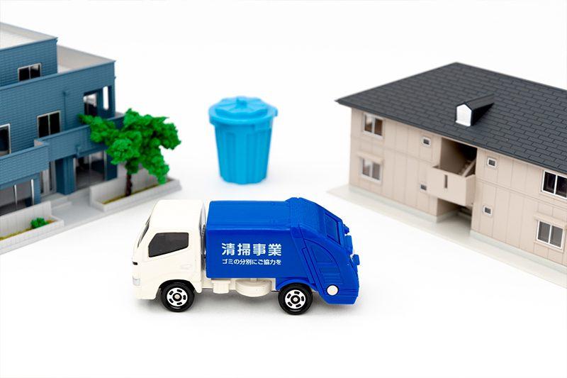 帰国時の不用品回収を自治体の粗大ゴミ回収に頼む場合