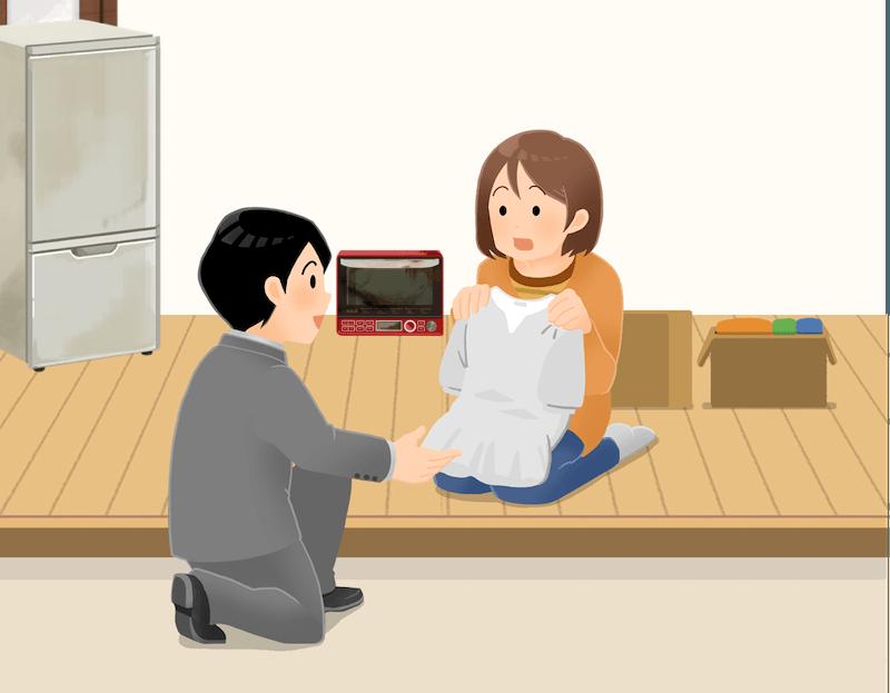 墨田区の回収サービス