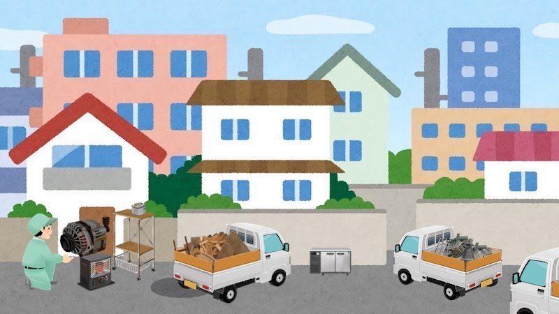 狛江市の不用品回収事例