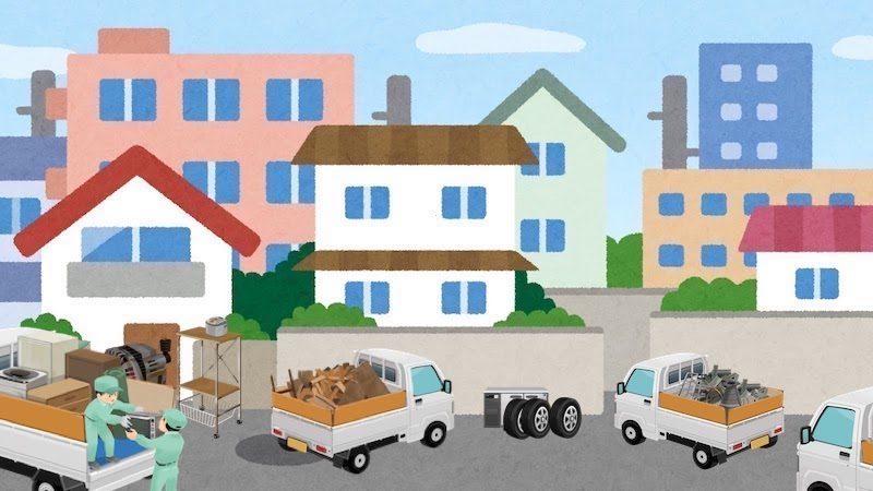 調布市の不用品回収サービス一覧