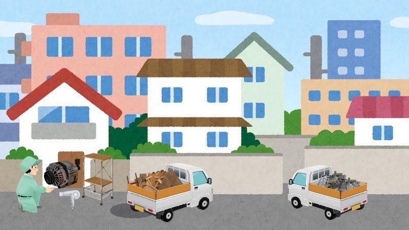 東久留米市の粗大ゴミ処分の手順