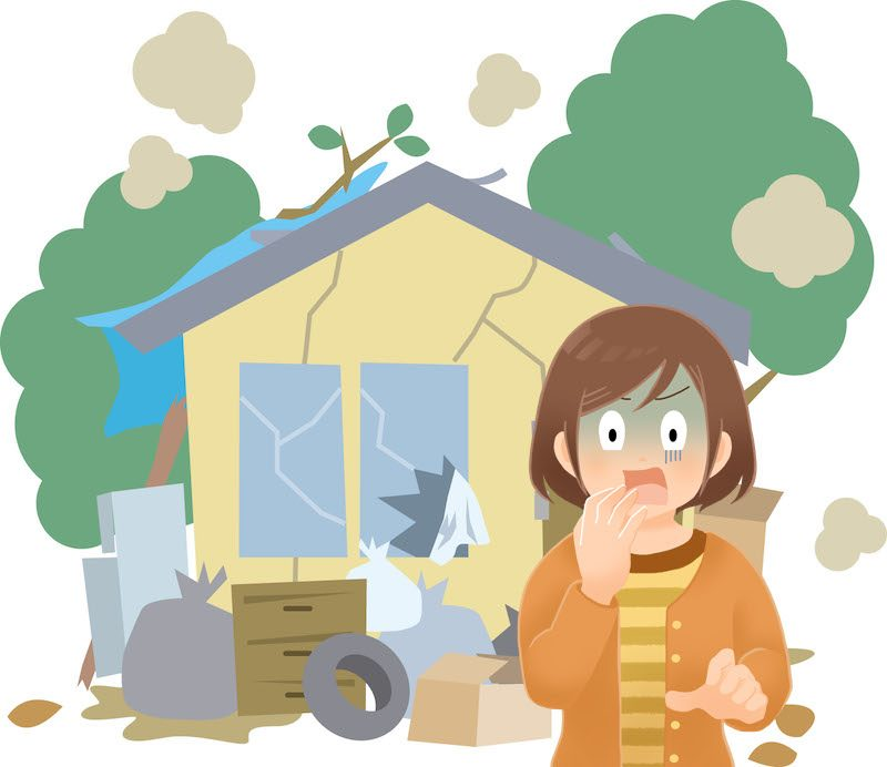 ゴミ屋敷の住人に女性が多い3つの理由とは?