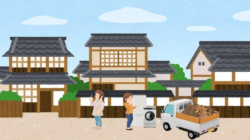吉川市の粗大ゴミ処分の注意点