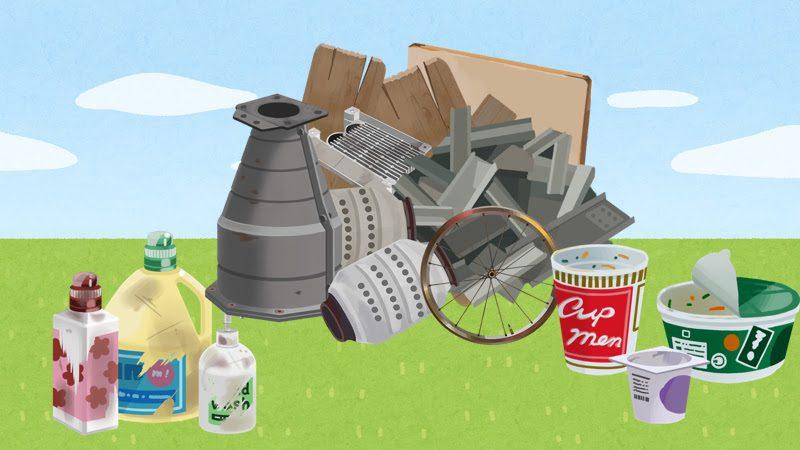 引っ越しで出たゴミの分類方法