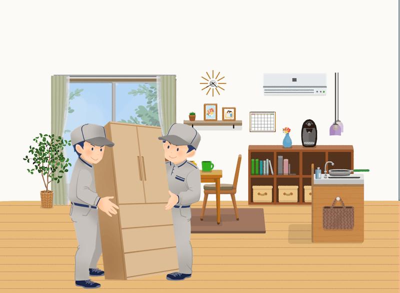 埼玉県三郷市の不用品回収事例