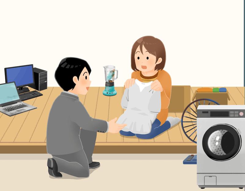 埼玉県松伏町の不用品回収事例