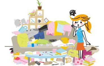 ぐちゃぐちゃの部屋片付けがラクになる3つの手順を解説!処分が難しいゴミはどうする?