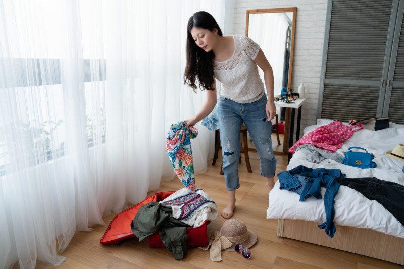 お部屋を片付ける順番②床